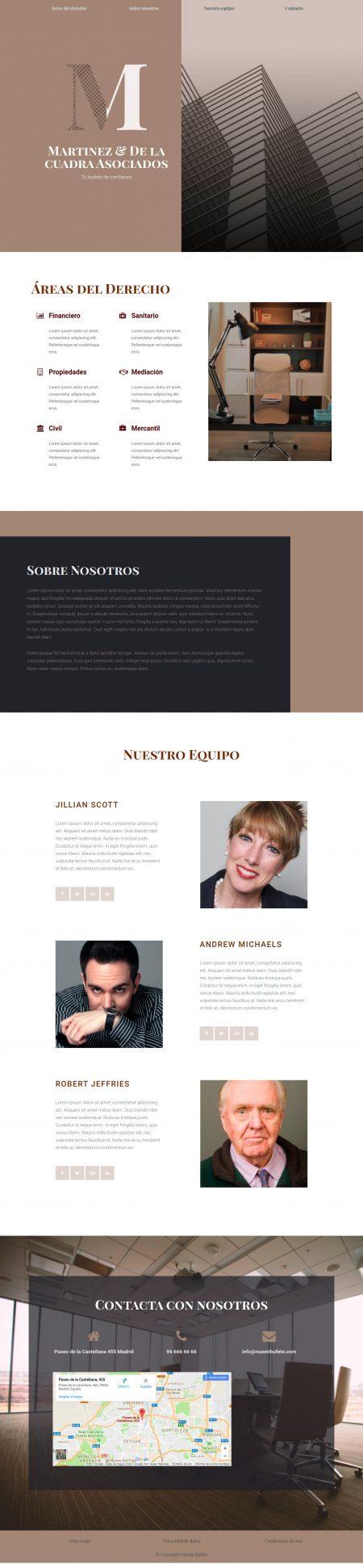 Despacho-de-abogados-onepage_modelo1 abogado.shop Web